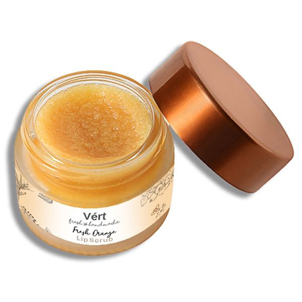 Fresh Orange Lip Scrub
