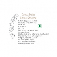 Cocoa Butter Cream Cleanser
