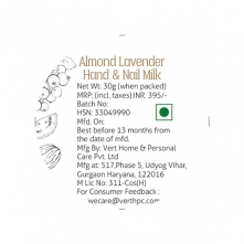 Almond Lavender Hand and Nail Cream