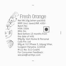 Fresh Orange Lip Scrub