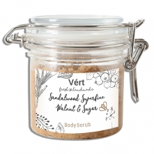 Sandalwood Superfine Walnut and Sugar Body Scrub