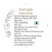 Fresh Apple Face Scrub