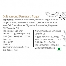 Cafe Almond Demerara Sugar Body Scrub