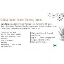 Cafe & Cocoa Butter Shaving Cream