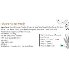 Hibiscus Hair Mask