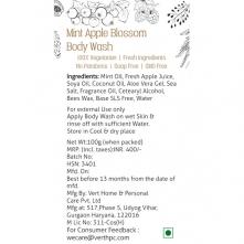 Mint Apple Blossom Body Wash