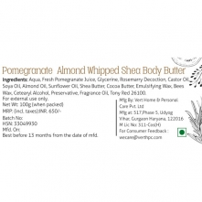 Pomegranate Almond Whipped Shea Body Butter
