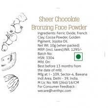 Sheer Chocolate Bronzing Face Powder