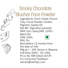 Smoky Chocolate Blusher Face Powder