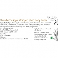 Strawberry Apple Whipped Shea Body Butter