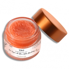 Cane Sugar with Kokum Butter Strawberry Lip Scrub